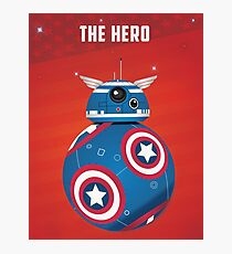 BB8 Friends Series 1 - The Hero Photographic Print