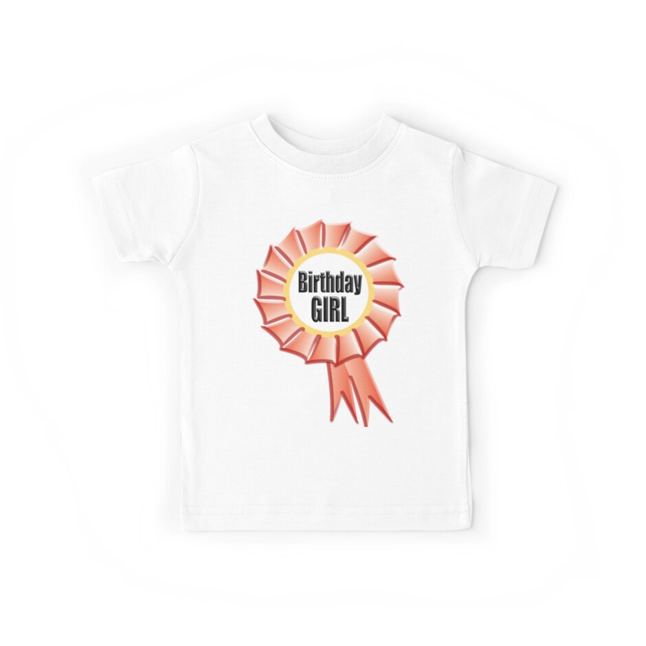 Sassy Since Birth Design #2 Girls Fitted T-Shirt Cute Birthday Party Gift