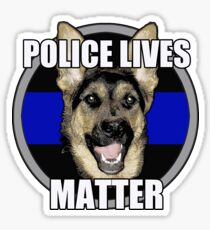 Police Lives Matter   Sticker
