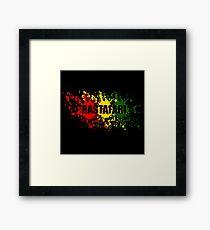 Rastafari Gerahmtes Wandbild