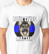 Blue Lives Matter  2 T-Shirt