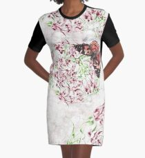 Treading lightly Graphic T-Shirt Dress