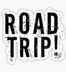 Road Trip Random Grunge Punk Holliday Sticker