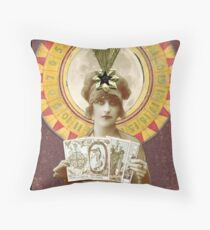Wheel of Fortune Oracle Throw Pillow