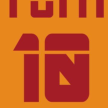 Totti 10 by Boscy