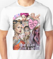 raja gemini collage Unisex T-Shirt