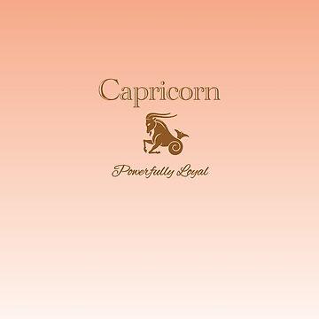 Capricorn - Powerfully Loyal by aurora-belle