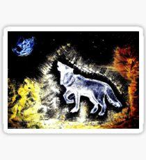 Wolf Spirit Beautiful Sticker