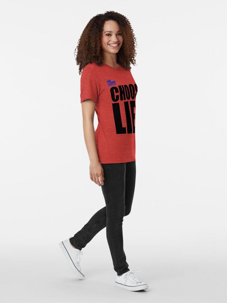 Alternate view of CHOOSE LIES Tri-blend T-Shirt
