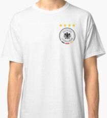 Germany Soccer European Football Crest Classic T-Shirt