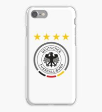 Germany Soccer European Football Crest iPhone Case/Skin