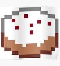 Minecraft Cake Poster