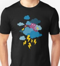 Who Makes the Thunder? - Night  T-Shirt