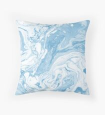 Shades of Blue #6 Throw Pillow