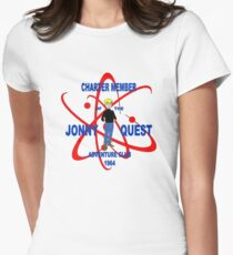 Jonny Quest Adventure Club 1964 Womens Fitted T-Shirt