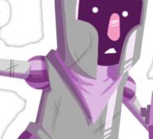 Nervous Knight Sticker