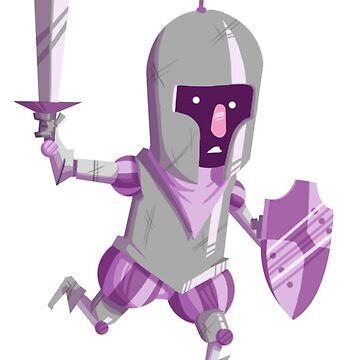 Nervous Knight by kyle-sans-kyle
