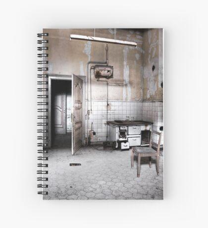 A kitchen  Spiral Notebook