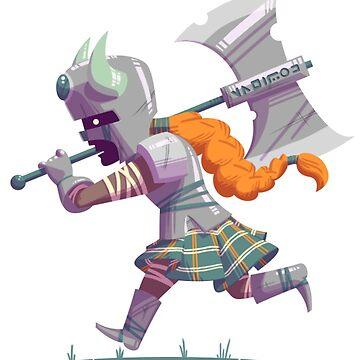 Daring Viking by kyle-sans-kyle