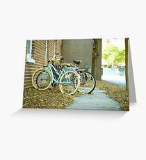 Baby Blue Cruise Greeting Card