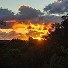 Warrandyte Sunset I by Adam Le Good