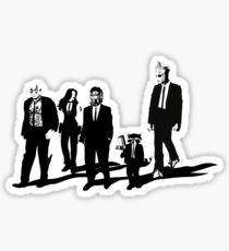 Reservoir A-Holes Sticker