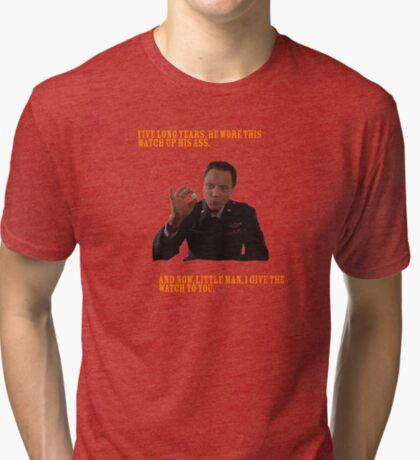 El Reloj - Pulp Fiction Camiseta de tejido mixto