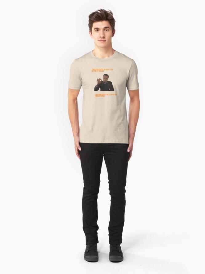 Vista alternativa de Camiseta ajustada El Reloj - Pulp Fiction