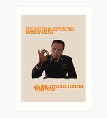 The Watch - Pulp Fiction Art Print