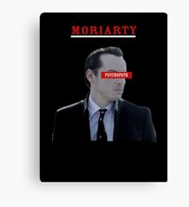 Moriarty - Psychopath Canvas Print