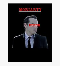 Moriarty - Psychopath Photographic Print