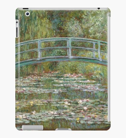 Claude Monet - Japanese Bridge at Giverny iPad Case/Skin