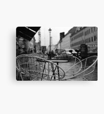 Coffee Tables In The Rain - Analog Canvas Print