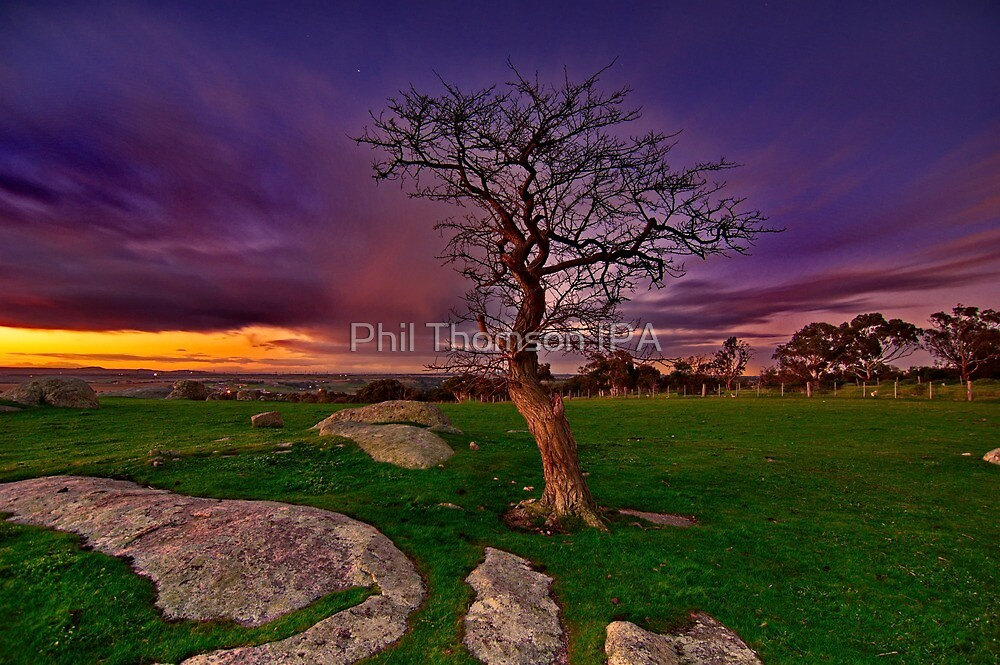 """""""Gloaming At The Rocks"""" by Phil Thomson IPA"""