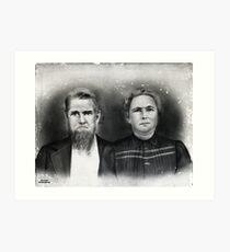 Henry Jackson Fulks & Nancy E. Mitchell, Lyon County, Kentucky Art Print
