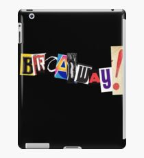 Broadway! iPad Case/Skin