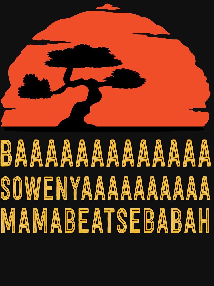 BAAAAAAAAAAAAA SOWENYAAAAAAAAAA MAMABEATSEBABAH T-Shirt von bitsnbobs