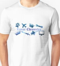 Lunar Chronicles Icons Unisex T-Shirt