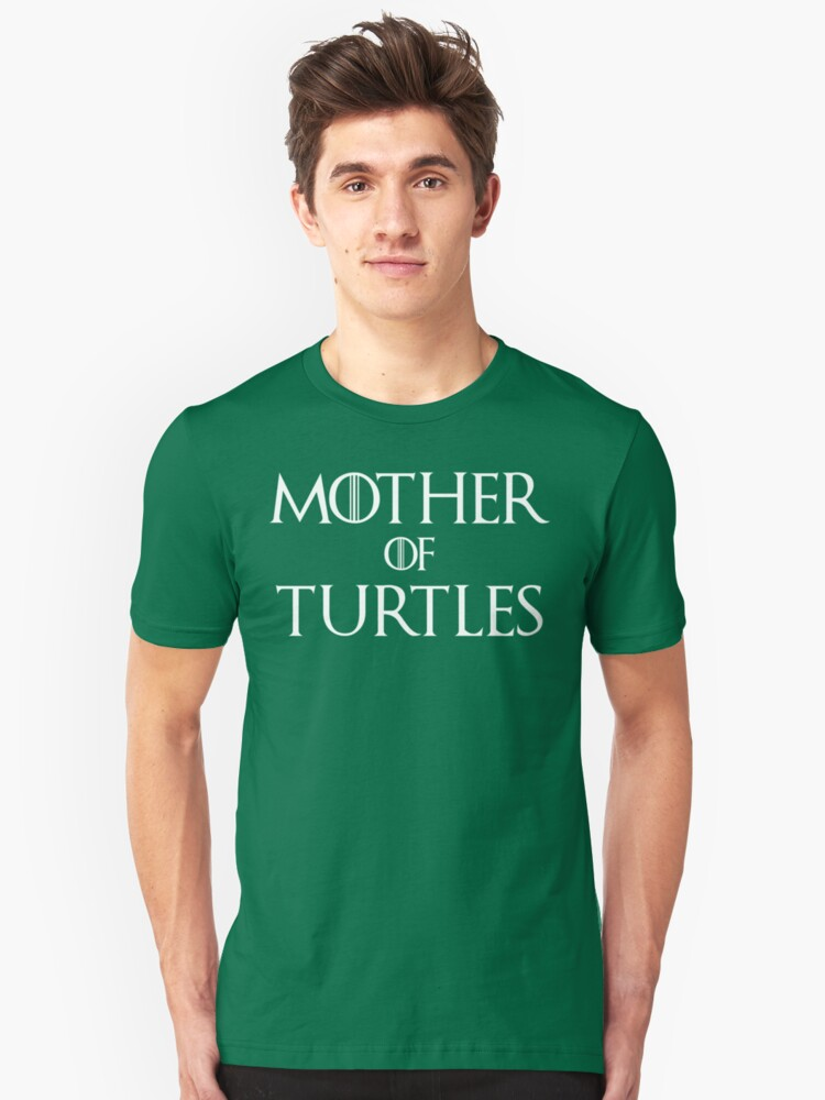 Mother of Turtles T Shirt Unisex T-Shirt Front