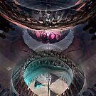 INSIDE ALIEN SPACESHIP by Günter Maria  Knauth