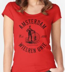 Amsterdam Bicycle Club Women's Fitted Scoop T-Shirt