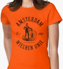 Amsterdam Bicycle Club Womens Fitted T-Shirt