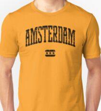 Amsterdam (Black Print) T-Shirt