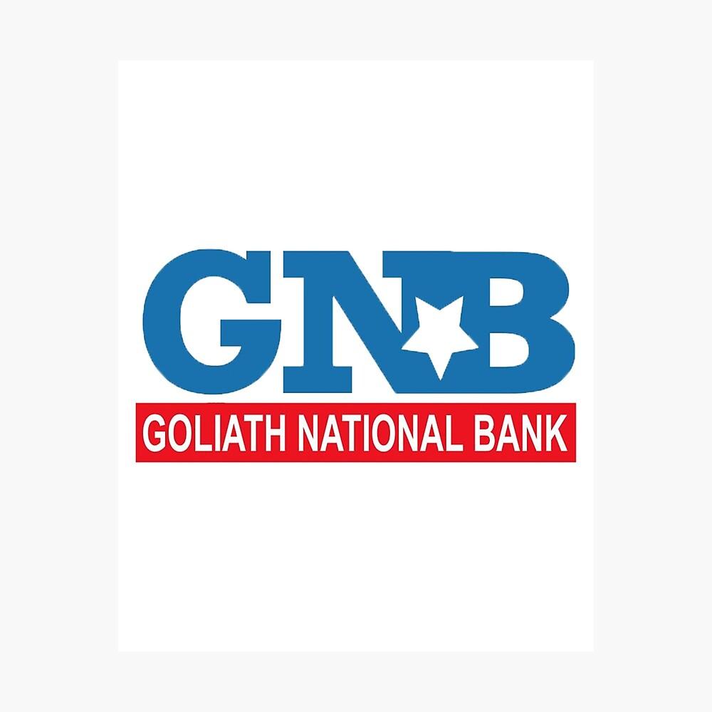 "HIMYM ""Goliath Nationalbank"" Fotodruck"