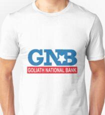 """HIMYM """"Goliath National Bank"""" Unisex T-Shirt"""