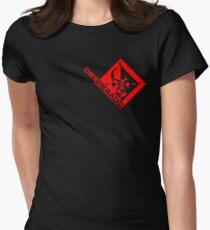 Metal Gear Rising - Desperado Enforcement Womens Fitted T-Shirt