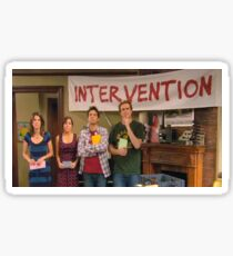 "HIMYM ""Intervention"" Sticker"