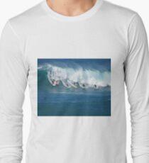 Waimea Bay Crowd Long Sleeve T-Shirt