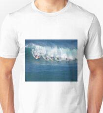 Waimea Bay Crowd Unisex T-Shirt