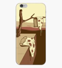 the melting pizza iPhone Case